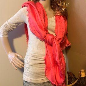 Louis Vuitton monogram scarf
